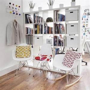 Créer Son Bureau Ikea : cr er une petite division avec les tag res ikea 20 id es ~ Melissatoandfro.com Idées de Décoration