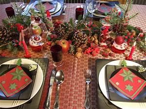 Tischdekoration Zu Weihnachten : weihnachtliche tischdekoration in rot meriseimorion ~ Michelbontemps.com Haus und Dekorationen
