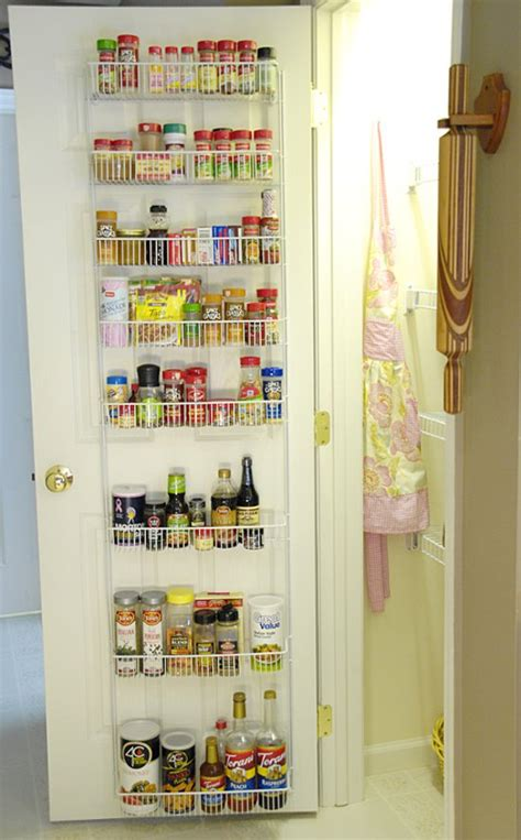 The Door Organizer For Pantry How I Organize My Pantry Living Rich On Less
