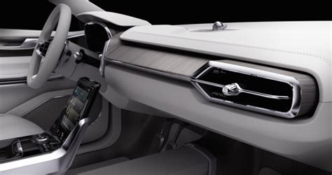 volvo concept  previews autonomous vehicle interior