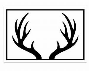 Antler silhouette   Clipart Panda - Free Clipart Images