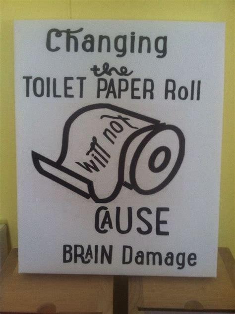 funny bathroom canvas art on etsy 15 00 a