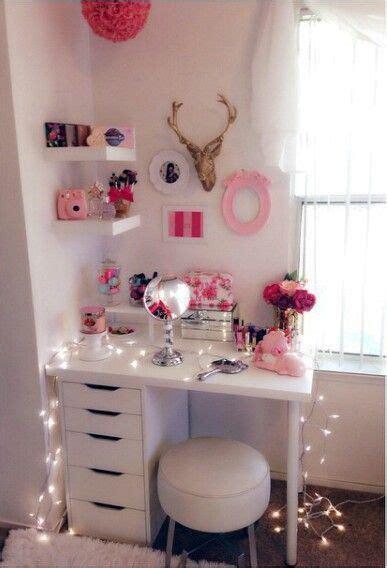 ideas  teen vanity  pinterest makeup