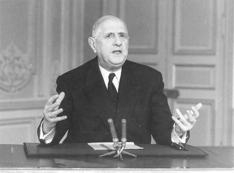Discours de Charles de Gaulle sur les événements de mai 68 ...
