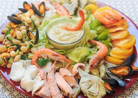 poissons cuisine salade marine composée cuisine à l 39 ouest