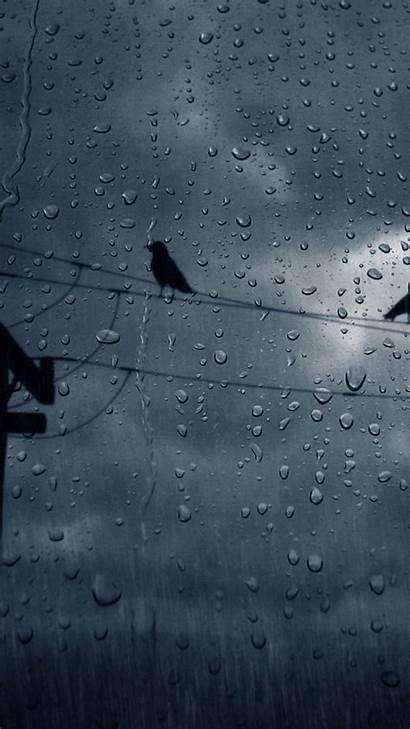 Rain Wallpapers Raining Aesthetic Walker Posted Otono
