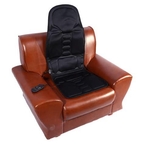 heat back massage chair car home seat cushion massager