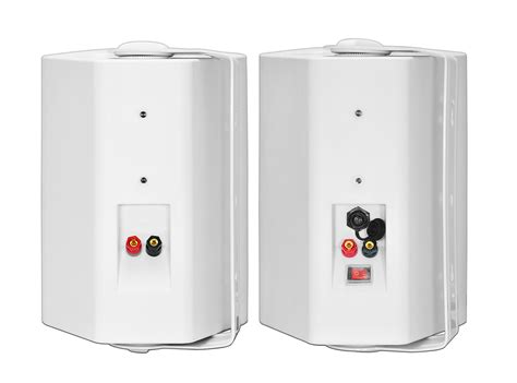 Wireless Outdoor Speakers Patio Pair Osd Audio Wpa-650