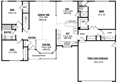 one level house plans single level house plans 17 best images about house plans