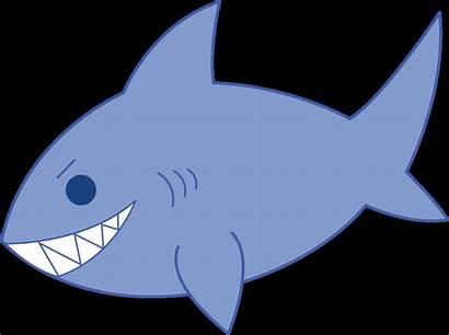 Shark Clip Clipart Jaws Bmp Happy Clipartmag