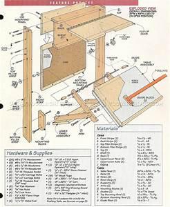 Fold-Down Drafting Table Plans • WoodArchivist