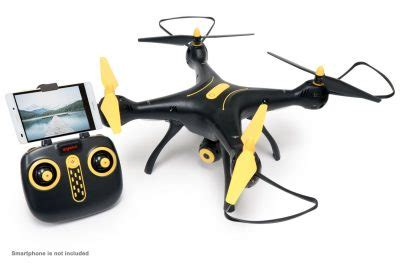 tenergy syma xsw wi fi fpv quadcopter drone blackyellow