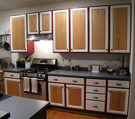 HOME DZINE Kitchen   Should you paint kitchen cabinets?