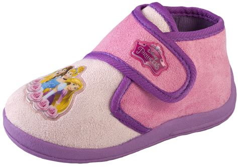Kids Girls Disney Princess Slippers Shoes Novelty Booties