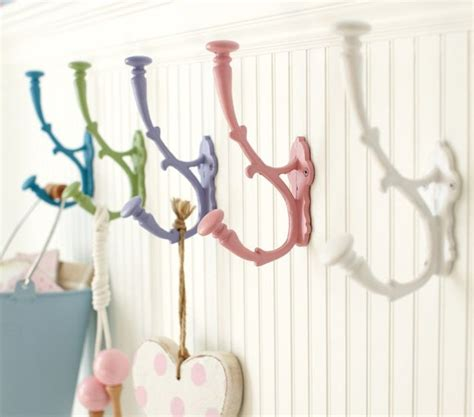 pottery barn decorative wall hooks metal hooks contemporary wall hooks by