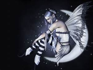 Dark Fairy Wallpapers - WallpaperSafari