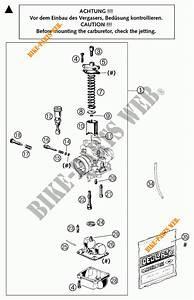 Carburetor For Ktm 50 Sx Pro Senior Lc 2004   Ktm