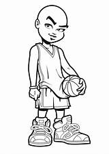 Lakers Coloring Pages Basketball Cartoon Jordan Drawing Michael Nba Lebron James Shoes Stephen Curry Print Air Toronto Draw Players Getdrawings sketch template
