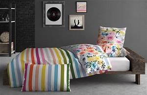 Deco Multicolore : housse de couette coton rainbow multicolore 240x220 d co multicolore pinterest housse de ~ Nature-et-papiers.com Idées de Décoration