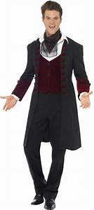 Gothic Vampire Halloween Costume | All Mens Halloween Costumes | Mega Fancy Dress
