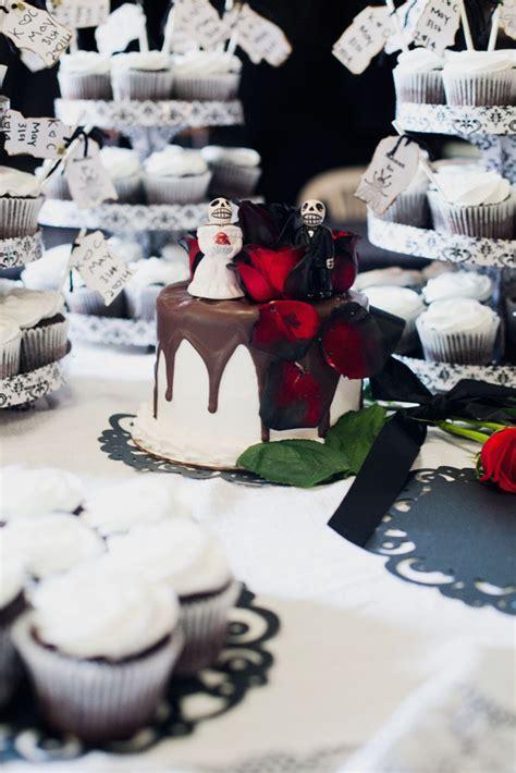 romantic macabre weddings addams family wedding