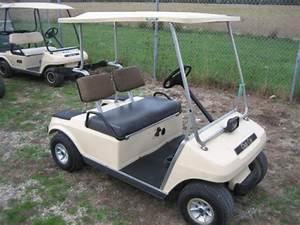 1995 Club Car Ds 48v Beige W  Charger