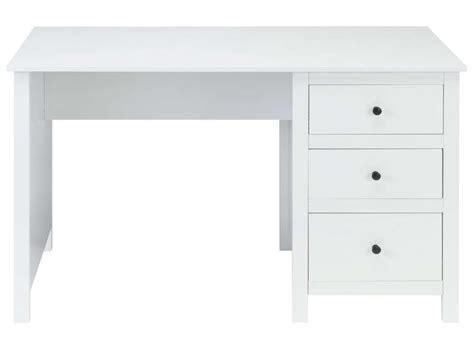 bureau 60 cm de large bureau 120 cm lou coloris blanc vente de bureau conforama