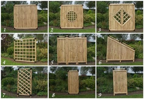 Bambus Sichtschutz Garten Zaun Gartenzaun Windschutz