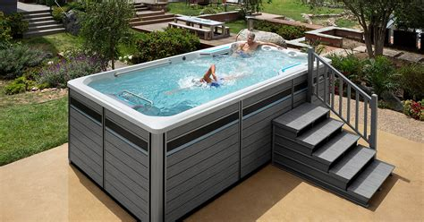 endless pool swim spas small swim spa fitness spas