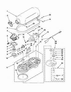 Kitchenaid Stand Mixer Wiring Diagram