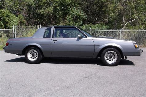 Buick Turbo T by 1987 Buick Regal T Type Turbo For Sale