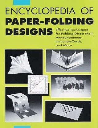 encyclopedia  paper folding designs effective technique  folding direct mails