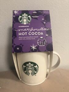 Here's a quick tasty treat for those of you who like a pick me up in the morning, or any. Starbucks Christmas Holiday Coffee Mug 12oz Marshmallow Hot Cocoa 2020 PawPrints | eBay