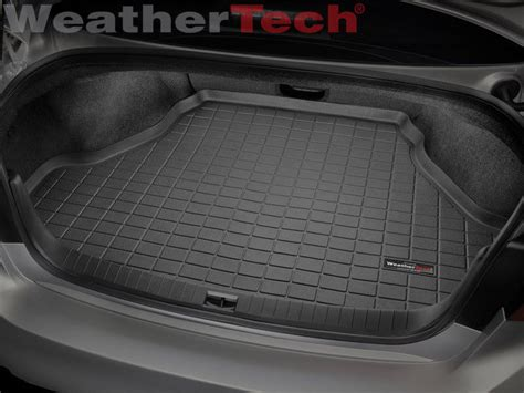 weathertech cargo liner trunk mat for infiniti q50 2014