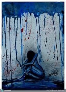 DEPRESSION - Painting   Sridhar Sanapala   Touchtalent