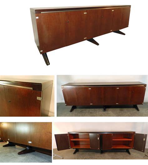 bureau ordo ordo enfilade design en bois teinte vers 1980 un bureau