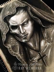Dark Tattoo Sketches and Drawings Skulls