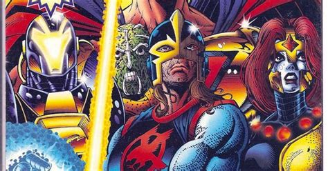 The Avengers' Black Knight With Ultraforce