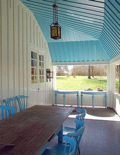 blue skies   beach decor porch ceiling porch