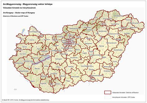 Mayer lászló és molnár andrás, szlovén fordítás: Irányítószámok és Választási körzetek - ArcMagyarország térkép | GeoX