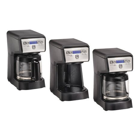 I replaced it with a bonavita (through amazon) and am quite pleased. Hamilton Beach 12 Cup Compact Programmable Coffee Maker 46200C   Walmart Canada