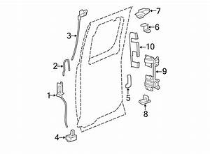 Chevrolet Silverado 2500 Hd Striker  Lock  Door   Rear