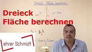 Fläche Dreieck Berechnen Formel : dreieck fl che berechnen geometrie mathematik youtube ~ Themetempest.com Abrechnung
