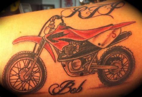 tattoos dirt bike tattoos