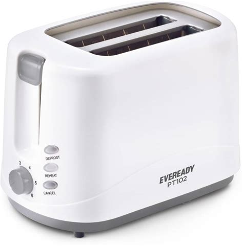 Pop Up Toaster Price by Eveready Pt102 750 W Pop Up Toaster Price In India Buy