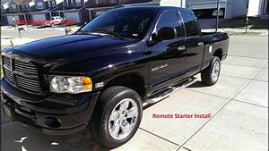 2005 Dodge Ram 1500 Remote Starter Install Of Avital 4103