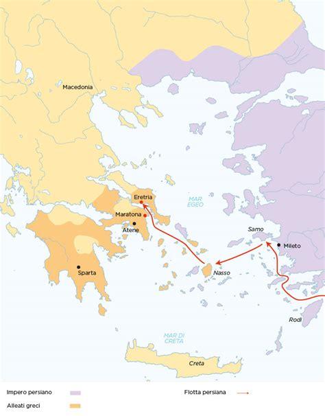 Cartina Guerre Persiane by Storiadigitale Zanichelli Linker Mappastorica Site