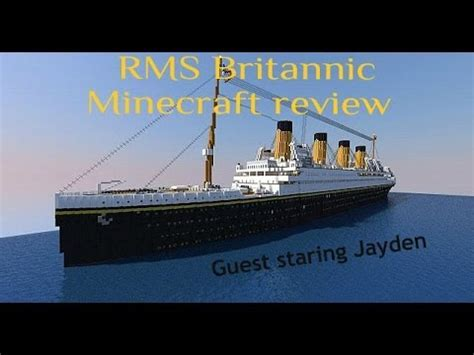 full download minecraft h m h s britannic sinking
