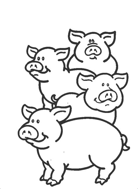 cute animals printable coloring page kids printable