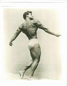STEVE REEVES Mr Universe Bodybuilding Muscle Back Pose ...